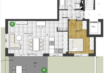 Wohnung 3 – 68 m2