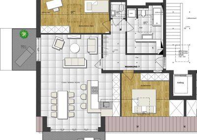 Wohnung 7 – 102 m2