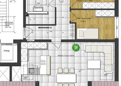 Wohnung 8 – 80 m2