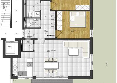 Wohnung 2 – 102 m2