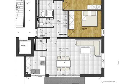Wohnung 5 – 102 m2
